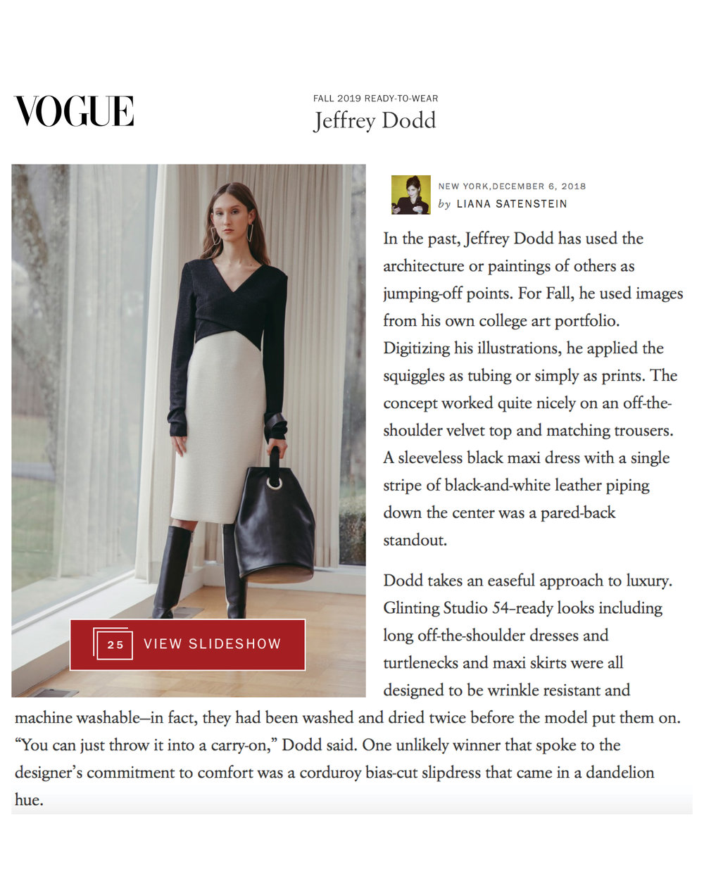 VOGUE REVIEW | FALL 2019