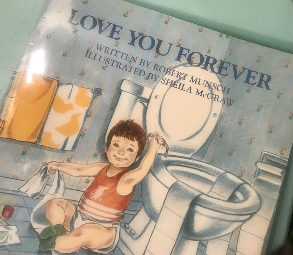 The book I read to Emily as a child