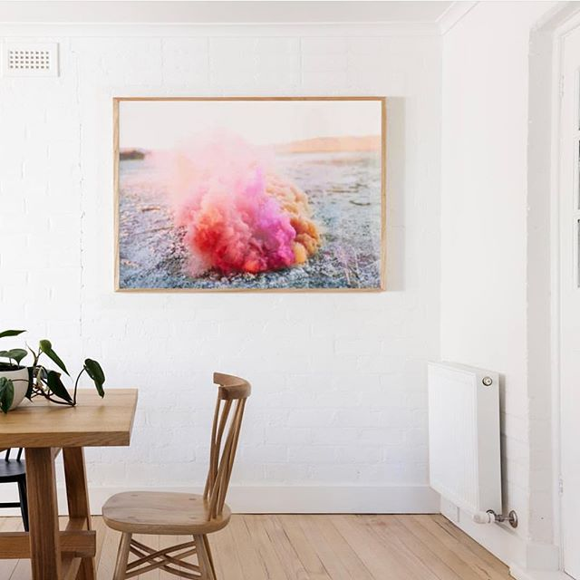 Looking for that perfect splash of color for your house? 🤔 Well, might we suggest our smoke bomb print?! Enter code LABORDAY20 to save 20% through midnight tomorrow!