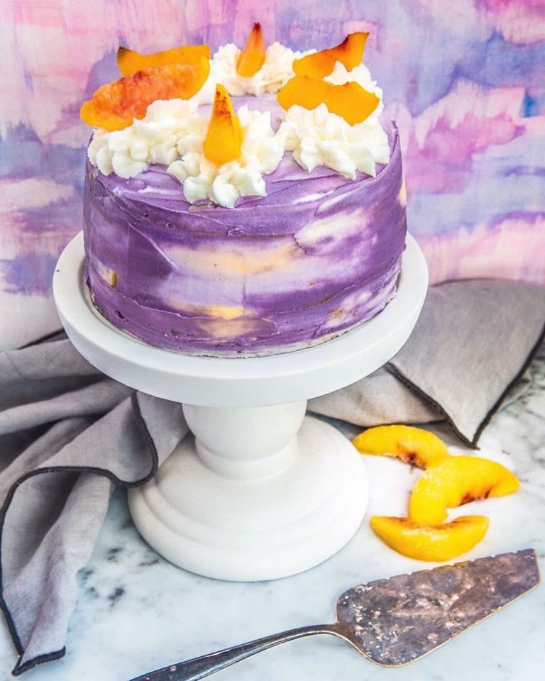 Perfect Gluten Free Vegan White Cake With Champagne Glaze