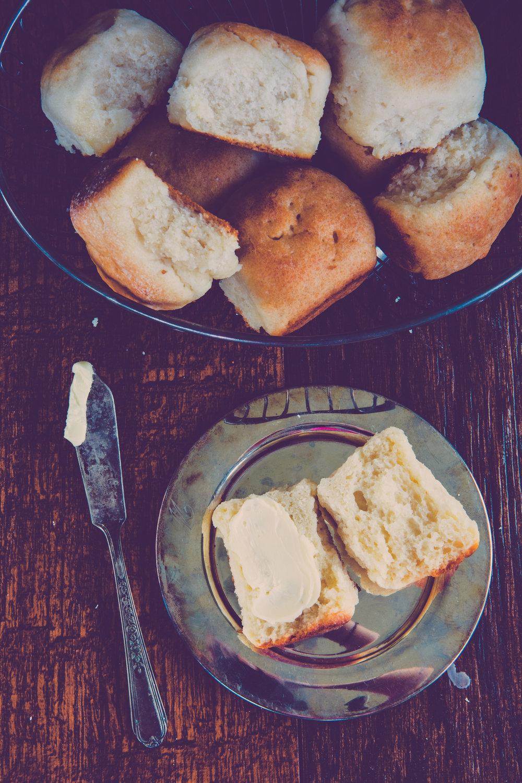The original Parker house rolls recipe!