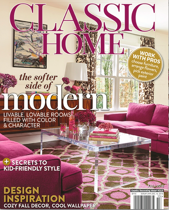 Classic Home | Fall 2018: Colorfuly Eclectic