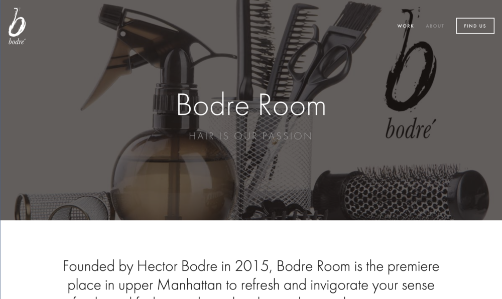 Bodre Room: Hair Salon