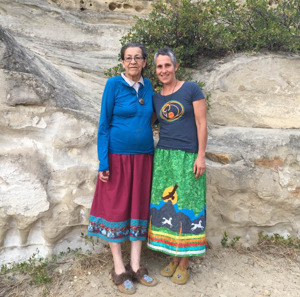 Kari Lesick and Grandmother Doreen Spence of Traditional Native Teachings