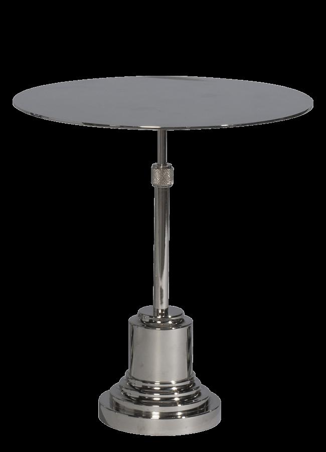 "ROUND PLATFORM STAND    Round Platform Item #: C-81680, 12"" dia."