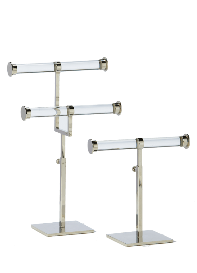 DOUBLE T - BAR STAND