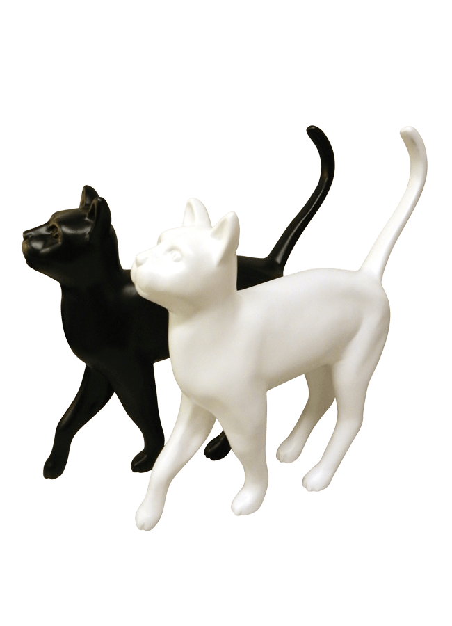 "CAT   Item# MD-CAT01  Height 16""  Width 3 ½""  Length 16"""