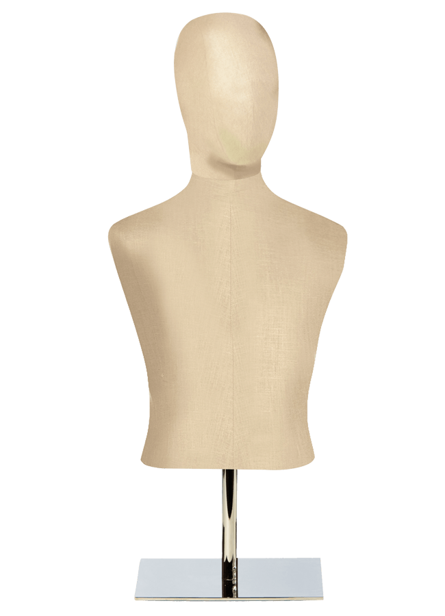 """HALF FORM Male   ITEM#: H015-1  Height 27.5"""" (form only) 