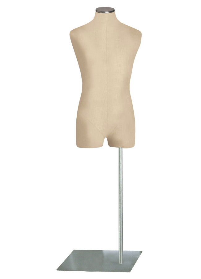 """THREE-QUARTER FORM Male   ITEM#: H015-3 -2  Height 34"""" (form only) 