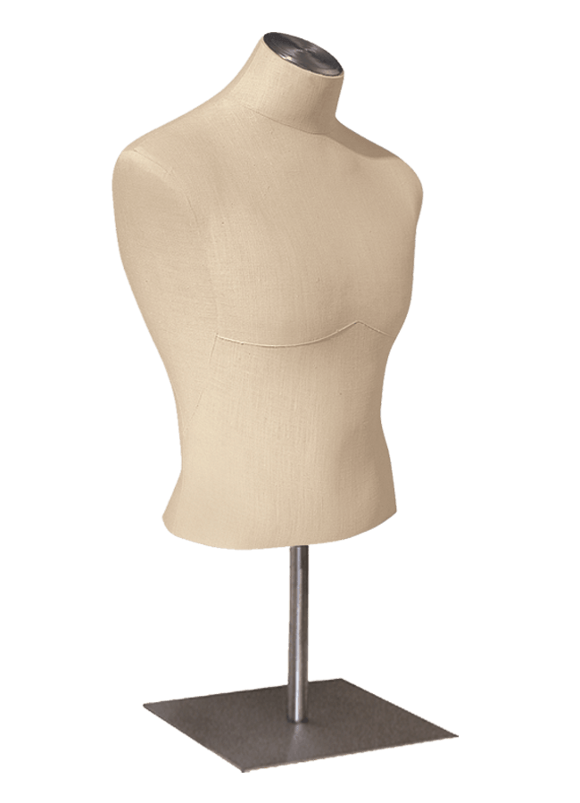 """HALF FORM Male   ITEM#: H195-1  Height 29"""" (form only) 