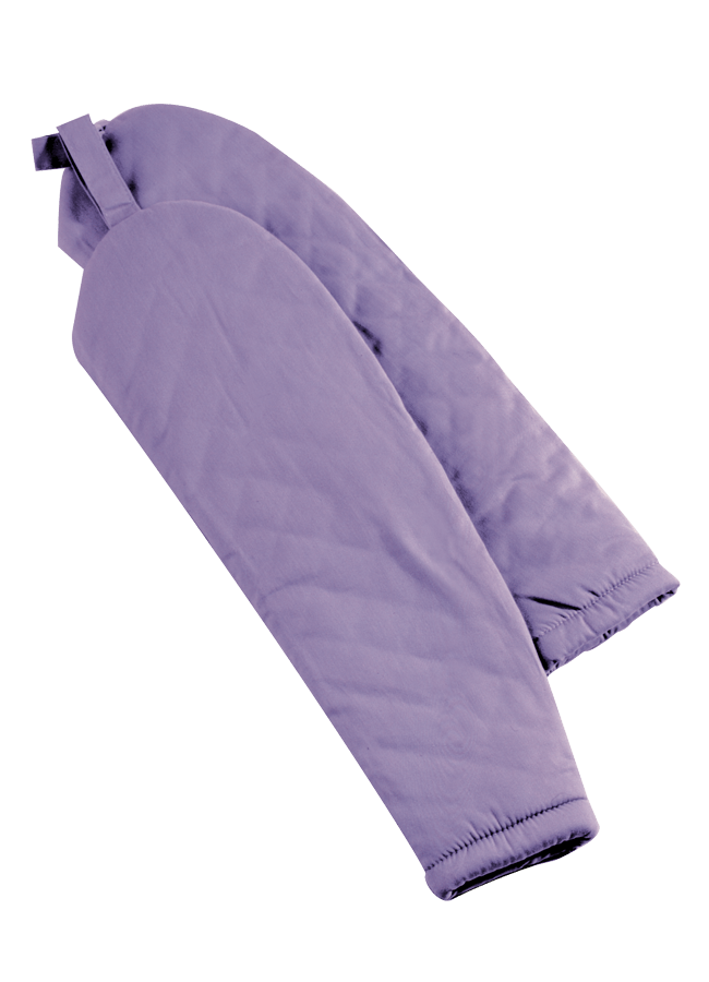 REGULAR LENGTH SLEEVE PADS W/ PINNABLE TAB – Male   ITEM#: FA100-2  Length 21"