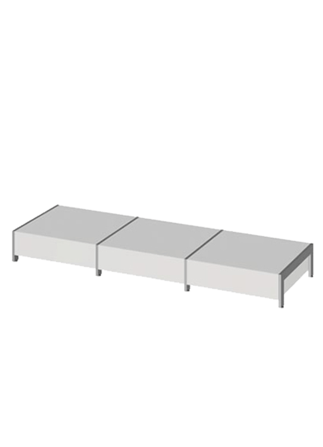 "Floor Collection – Lite Platform   ITEM#: LITE PLATFORM  31"" x 31"" x 9"" Lite Platform  Other finishes are available"