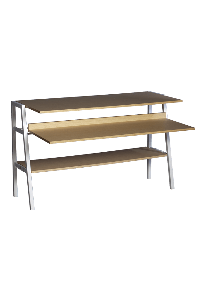 "Modulaire Collection – Expandable Console   56""w x 18""d x 34""h  Other finishes are available"