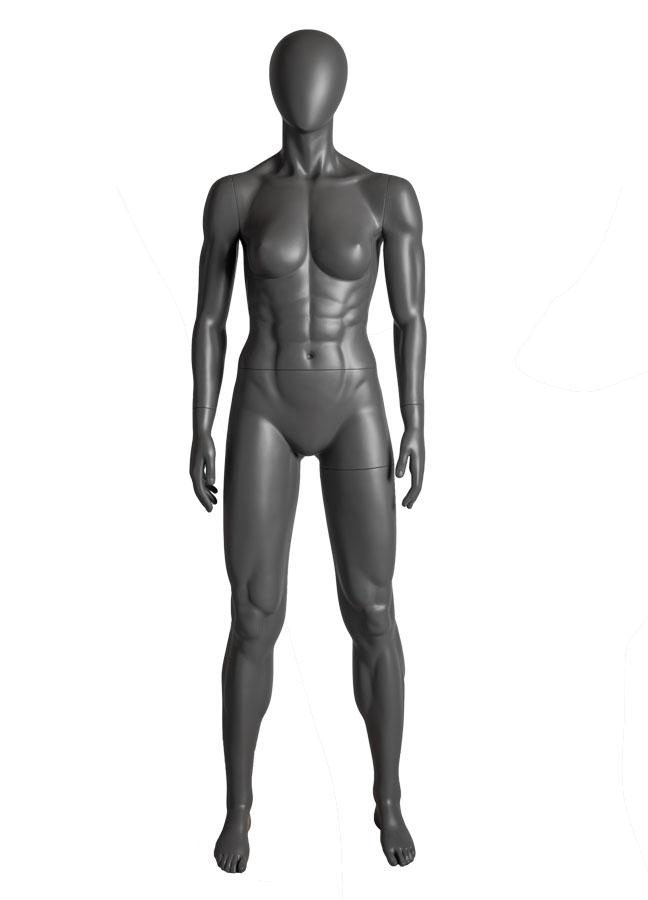 "SQUAD FEMALE POSE 1  ITEM# SQ-F1  Measurements:  Height 71-1/2""  Bust 36""  Waist 26-1/2""  Hip 37"""