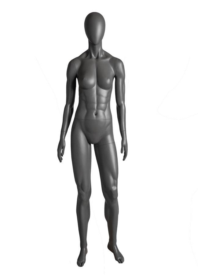 "SQUAD FEMALE POSE 2  ITEM# SQ-F2  Measurements:  Height 71-1/2""  Bust 36""  Waist 26-1/2""  Hip 37"""
