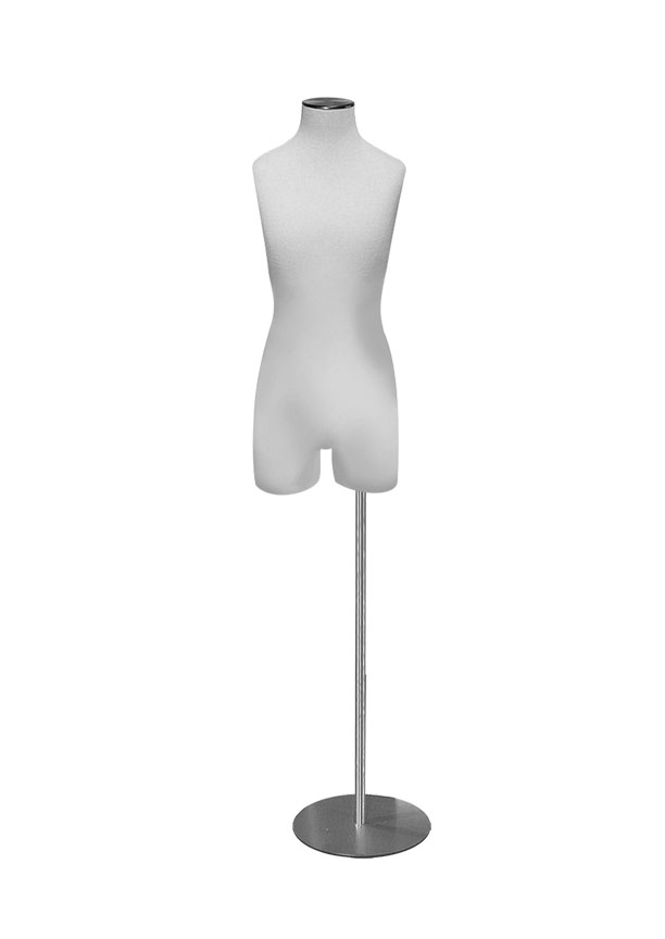 """G015-3   Girl Size 10 3/4 Form  Height 28"""" (form only)  Bust 27 ¼""""  Waist 24 ½""""  Hip 27 ½"""""""