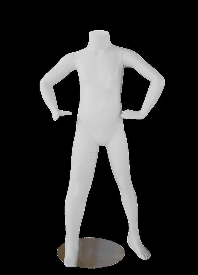 """HEADLESS KIDS 4-6   MD-K1004  measurements:  Height 40 ¼""""  Chest 22 ¾""""  Waist 20 ½""""  Hip 25"""""""