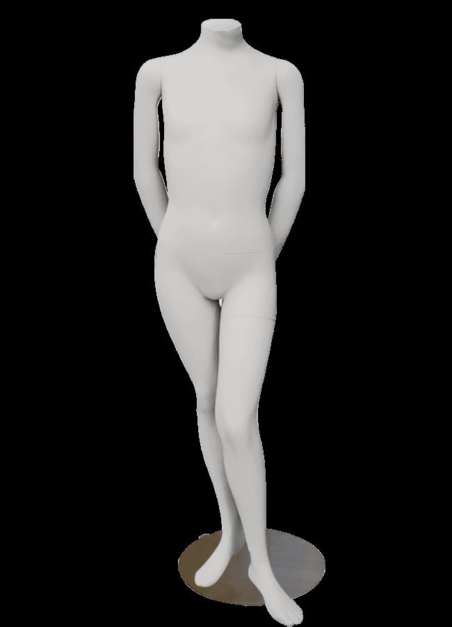 "HEADLESS KIDS 10-12 YEARS   MD-K1002  measurements:  Height 53""  Chest 28""  Waist 22 ¼""  Hip 29"""