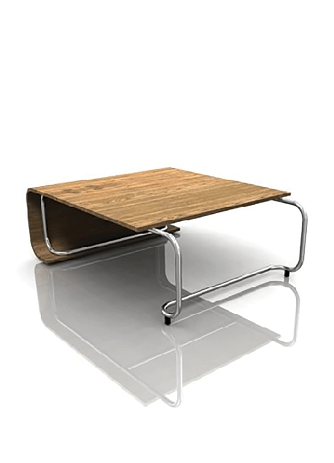"RIBBON MC-CC02E  Classic Bench - Large  42"" w x 54"" d (wood 48""d) x 18"" h"