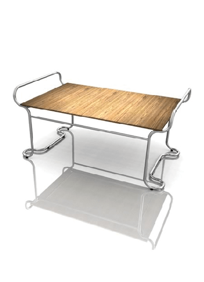 "RIBBON MC- CC10  Classic Table  68"" x 42"" x 31 ½"" h"