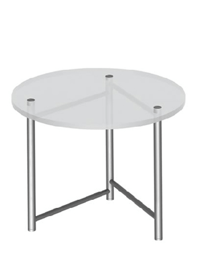 "TABLE ITEM 1  Swing Table  TT001  36"" Round"