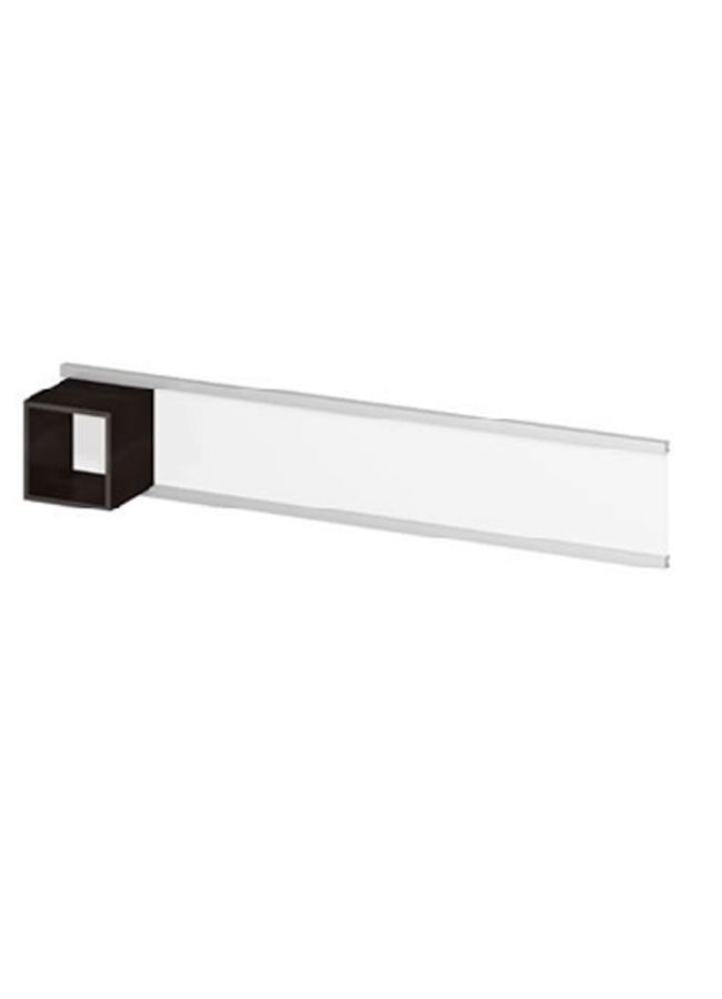 "WALL ITEM 3  Wall Rail  WL301A 96"" x 3"" x 2"" Double Wall Rail  Rail Cube: CB001W 15"" x 15"" x 15"" 4 Sided Cube"