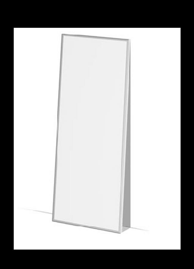 "WALL ITEM 7  Lite Box  LB001A 36"" x 96"" x 4"" Leaning Lite Box"