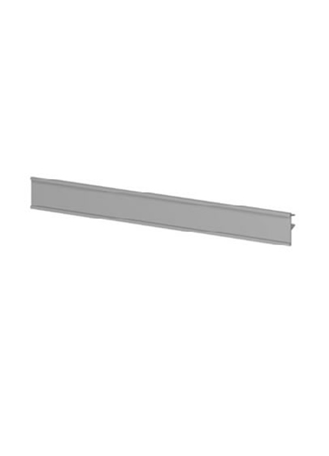 "CEILING ITEM 9  Eye Hook Shoe Shelf  AC219P  12"" x 5"" x 1/2""  Frosted Plexi, Aluminum, Black, White, Silver  Shoe Shelf Graphic Clip: GH743A  21"" x 2""  Aluminum, Black, White, Silver"