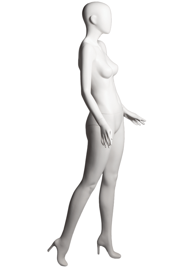 "SHADE POSE 1-A ITEM # SHA-F1-A RIGHT   Measurements: Height 74""  Bust 32-1/4""  Waist 24-7/8""  Hip 36-1/2"" Footprint 9-1/2""  Heel 4"""