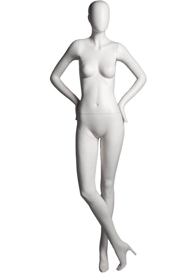 "SHADE POSE 5-A ITEM# SHA-F5-A   Measurements: Height 74""  Bust 32-1/4""  Waist 24-7/8""  Hip 36-1/2"" Footprint 9-1/2""  Heel 4"""