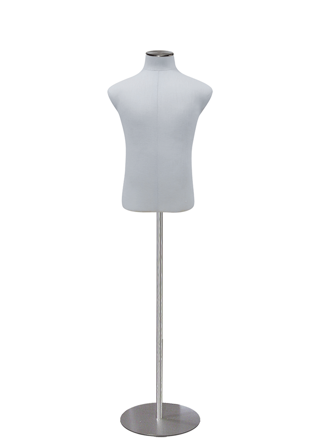 "B810-1 Boy Size 8-10 Shirt Form  Height 22 ¼"" (form only)  Chest 30""  Waist 25 ¼""  Hip 38 ¼"""