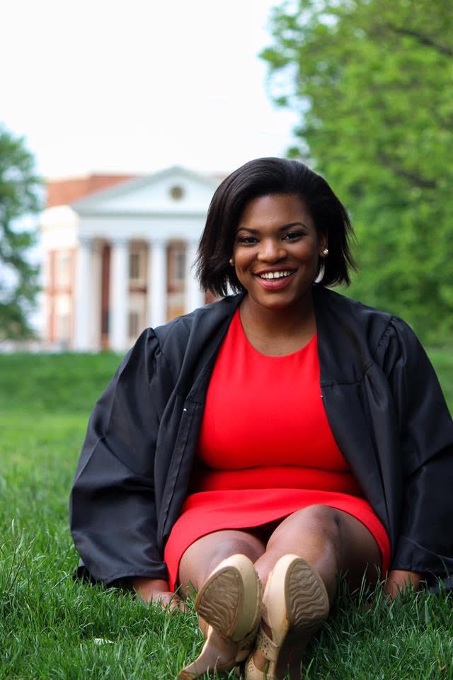 Recent UVA graduate and Madison House Alumni Council (MHAC) leader Lauryn Washington