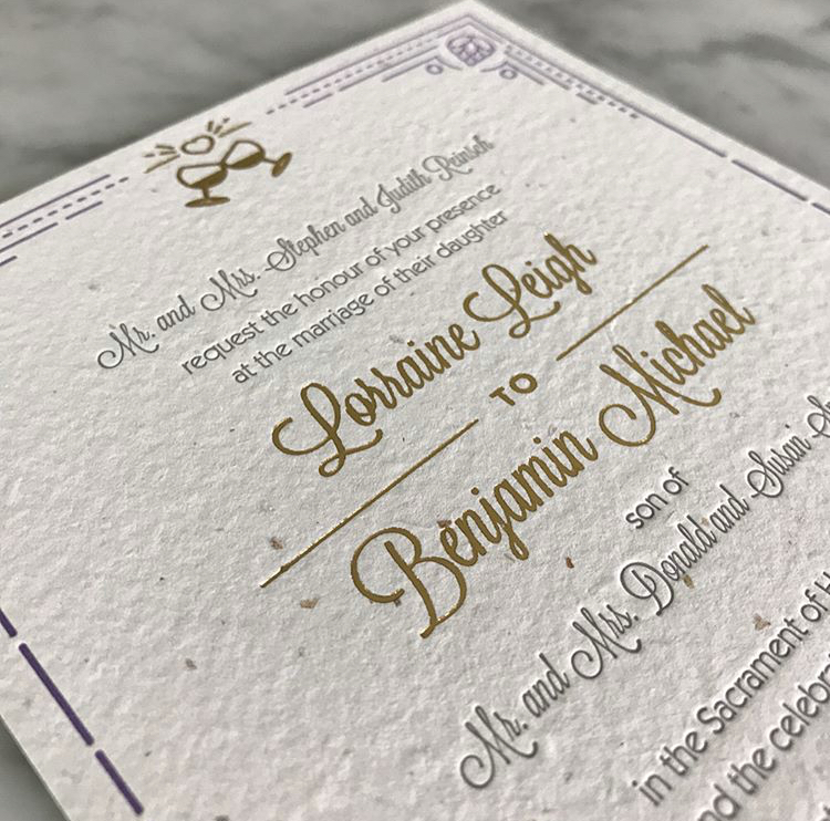 Weddings + Events - Whether planning a birthday celebration, sending out wedding invites or welcoming a newborn, we love bringing your special event to life with invitations, announcements and day-of paper goods.