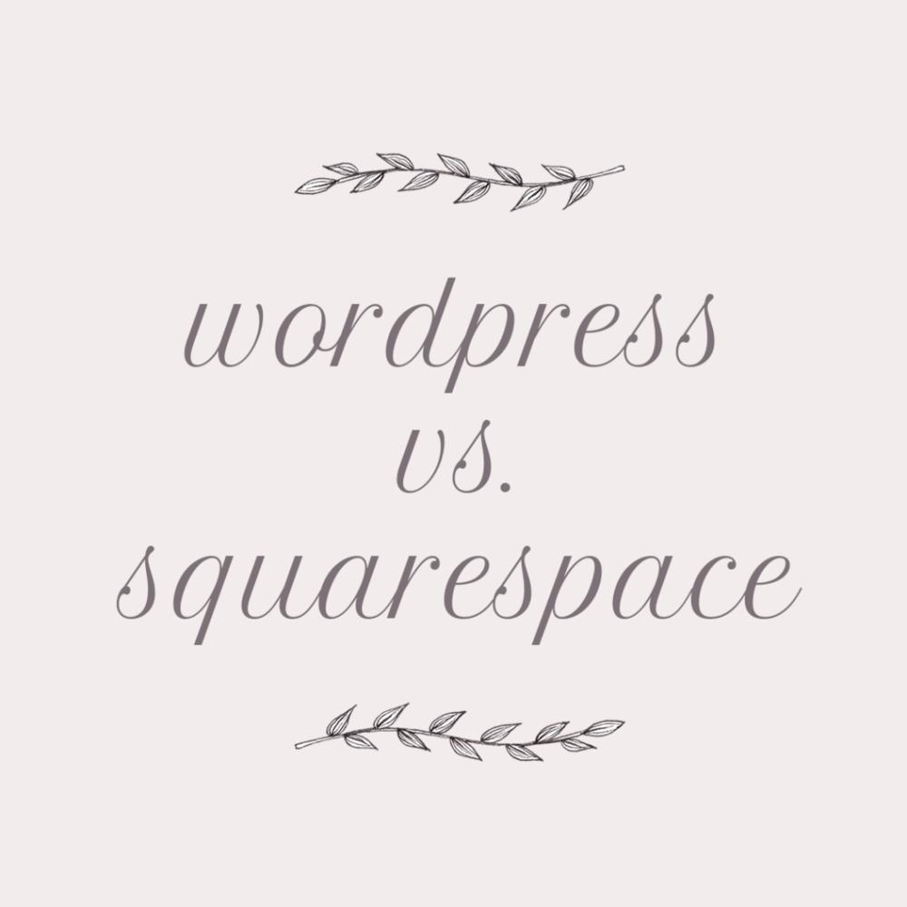 Sixty Eight Ave - Wordpress vs Squarespace