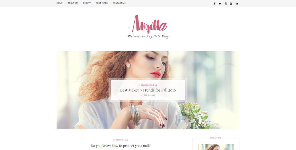 Sixty Eight Ave - angilla wordpress theme
