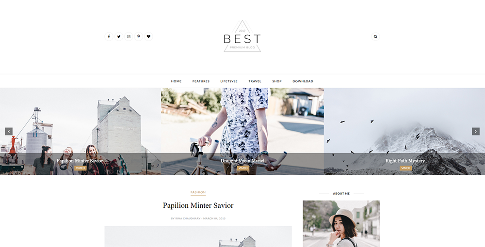 Sixty Eight Ave - Best Blogger Theme