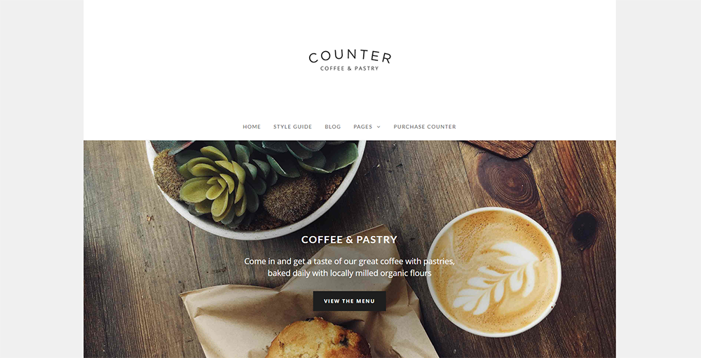 Sixty Eight Ave - counter wordpress theme