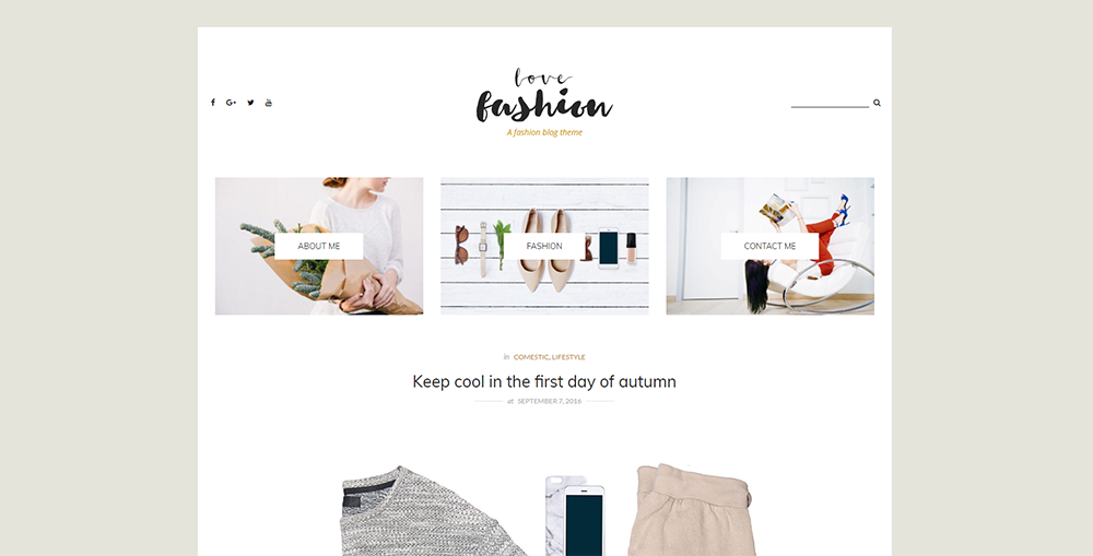 Sixty Eight Ave - love fashion wordpress theme