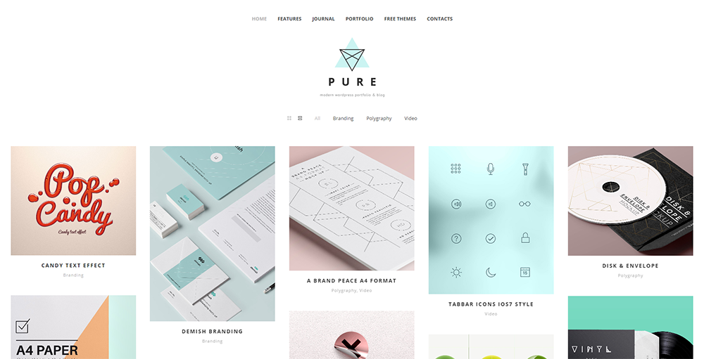 Sixty Eight Ave - pure wordpress theme