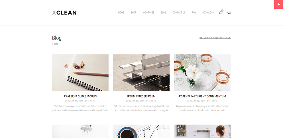 xclean wordpress theme