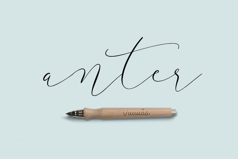 Sixty Eight Ave - 100 Stylish Fonts - Anter Script