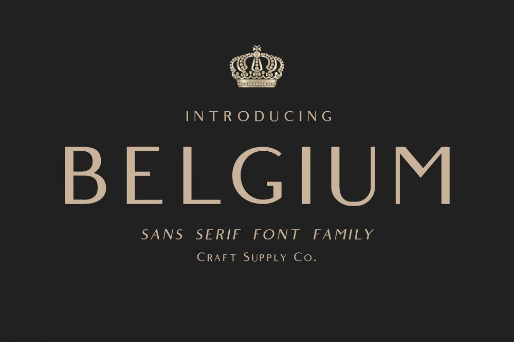 Sixty Eight Ave - 100 Stylish Fonts - Belgium