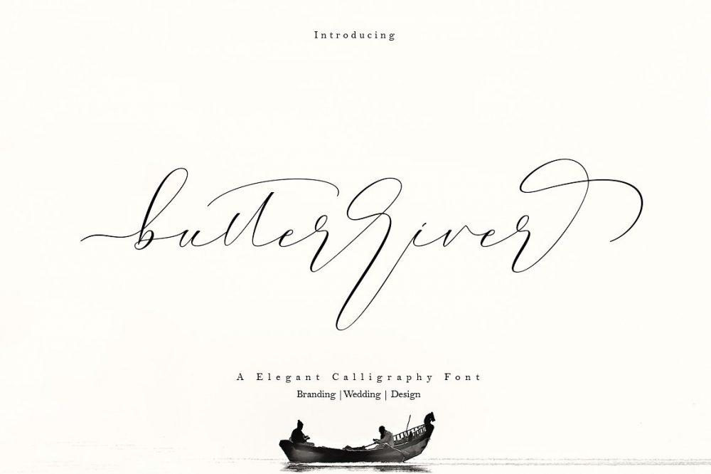 Sixty Eight Ave - 100 Stylish Fonts - Butterriver
