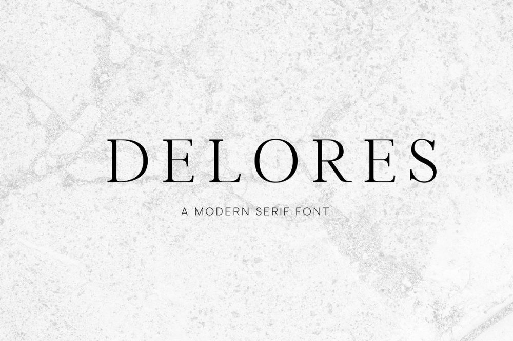 Sixty Eight Ave - 100 Stylish Fonts - Delores