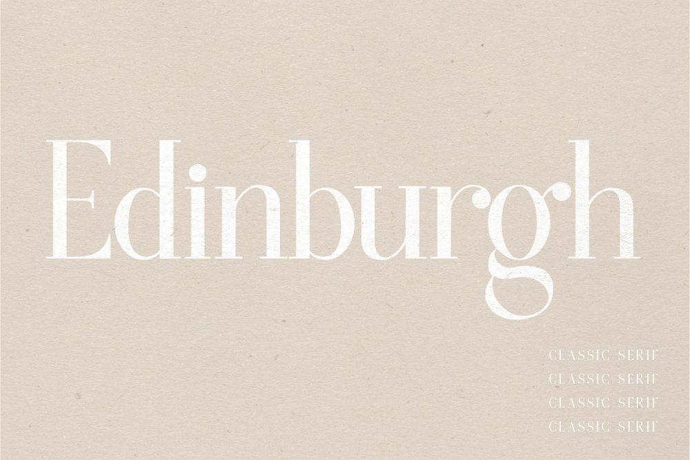 Sixty Eight Ave - 100 Stylish Fonts - Edinburgh