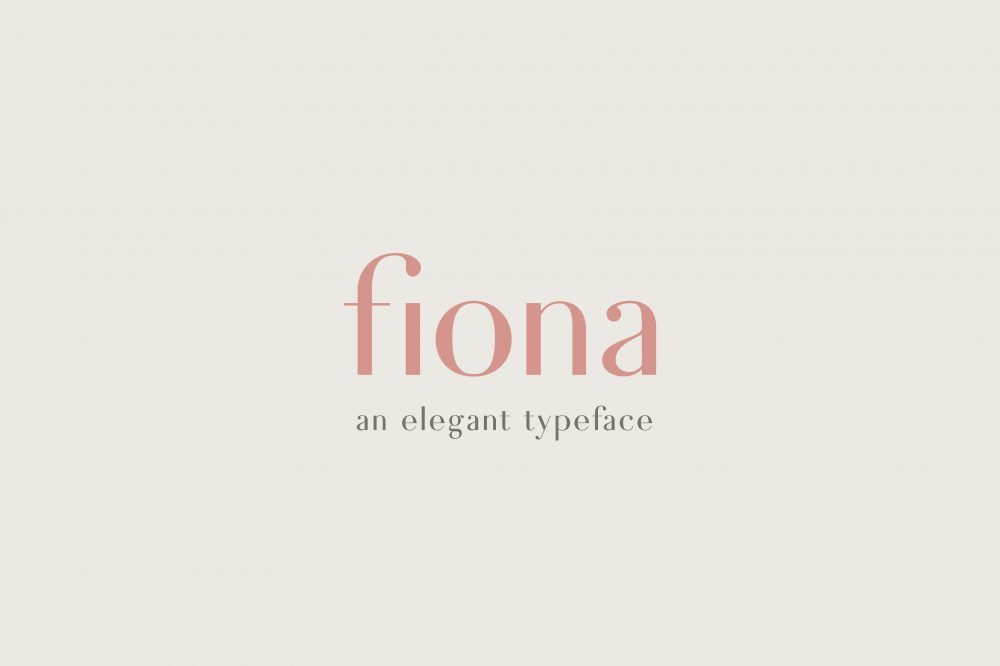 Sixty Eight Ave - 100 Stylish Fonts - Fiona