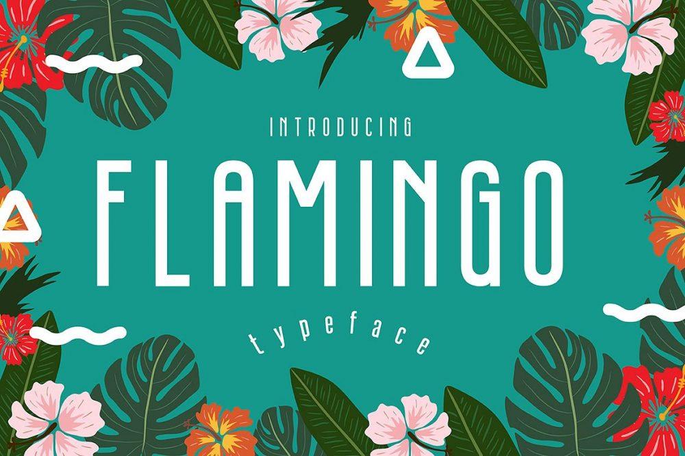 Sixty Eight Ave - 100 Stylish Fonts - Flamingo