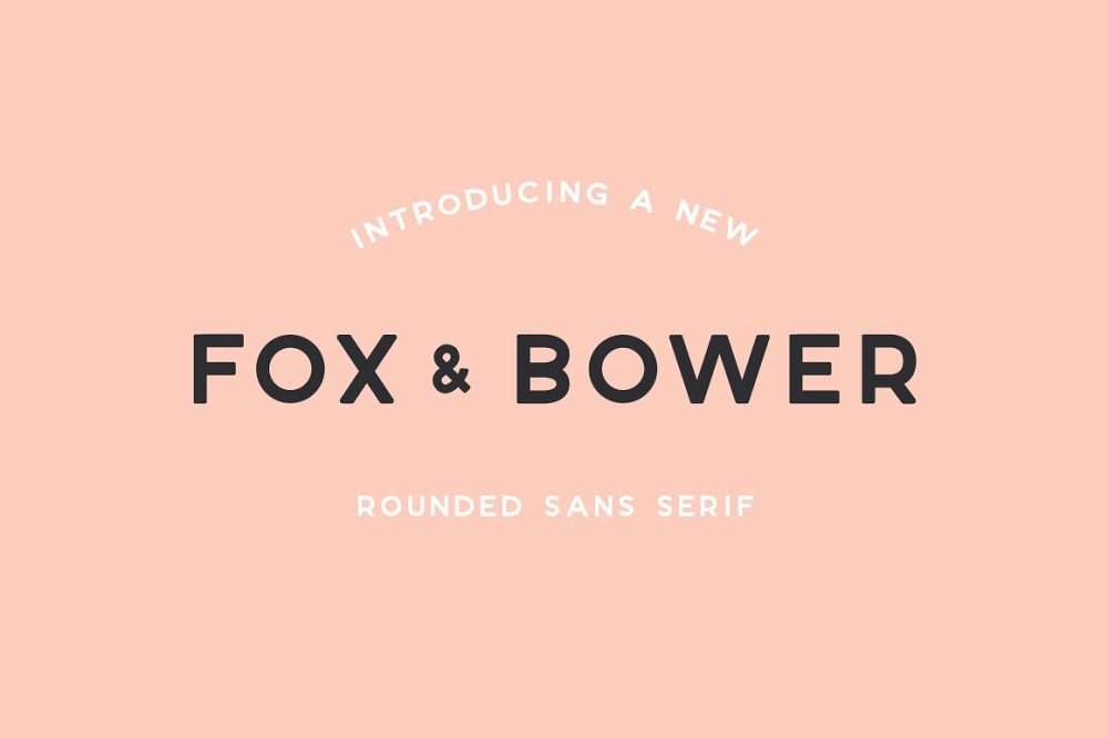 Sixty Eight Ave - 100 Stylish Fonts - Fox and Bower