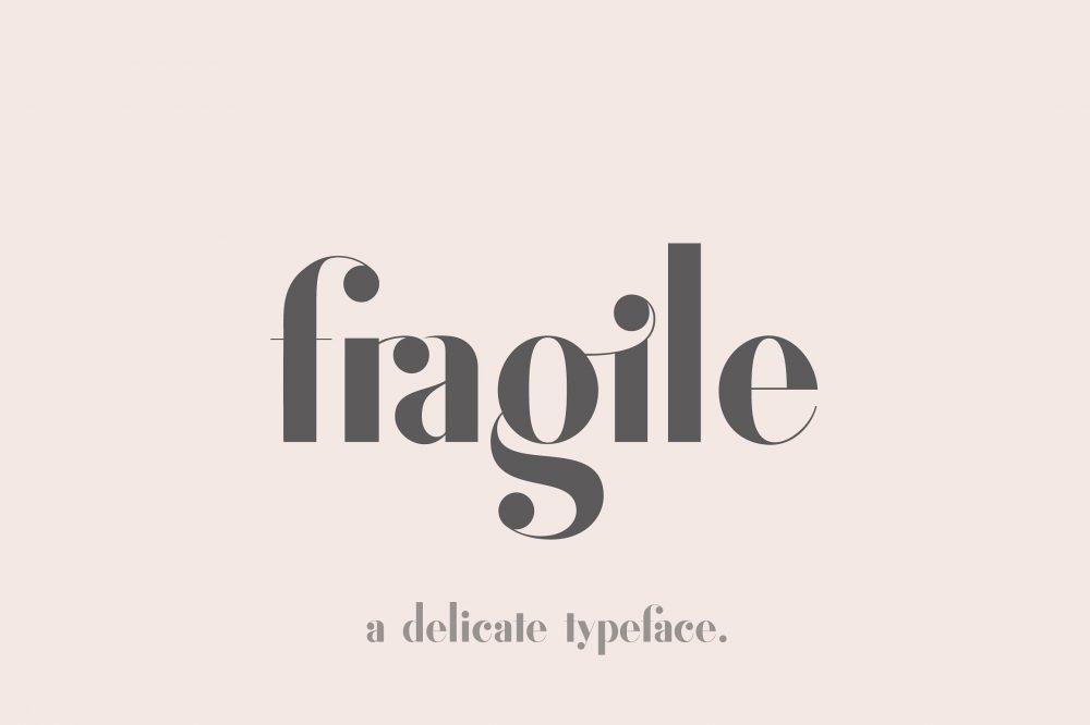 Sixty Eight Ave - 100 Stylish Fonts - Fragile