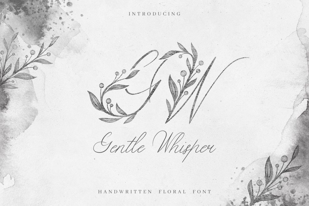Sixty Eight Ave - 100 Stylish Fonts - Gentle Whisper